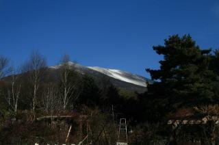夢ハーベスト農場から見える浅間山