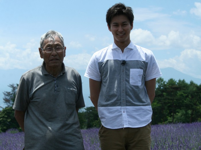 趣味の園芸三上さんとオーナー